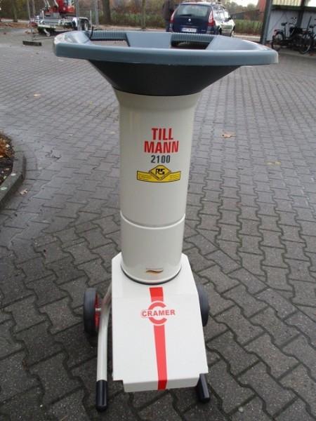 Cramer Tillmann Gartenhäcksler Elektro 2100